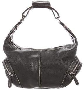 Tod's Grained Leather Hobo