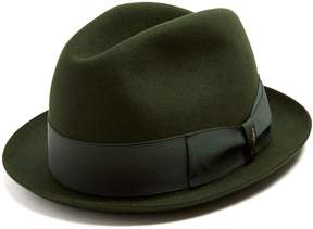 Borsalino Alessandria narrow-brim felt hat