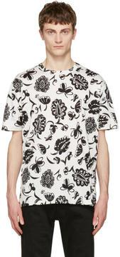 Junya Watanabe Ivory Flower T-Shirt