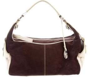 Tod's Suede & Leather Hobo