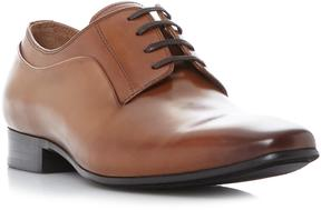 Dune London RHYMES - TAN Blind Seam Chisel Toe Lace Up Shoe