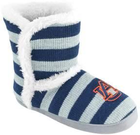 NCAA Women's Auburn Tigers Striped Boot Slippers