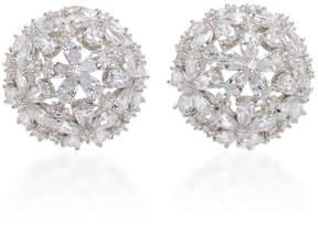 Fallon Monarch Florette Button Earring