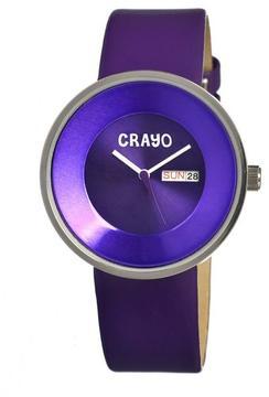 Crayo Button Collection CR0201 Unisex Watch