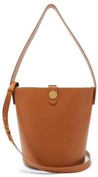 Sophie Hulme Swing Leather Bucket Bag - Womens - Tan
