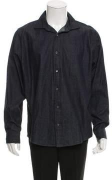 Jack Spade Denim Button-Up Shirt