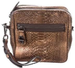 Reed Krakoff Metallic Python Crossbody Bag