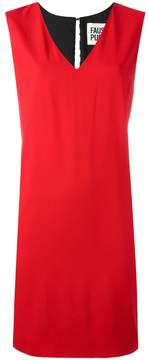 Fausto Puglisi V neck dress