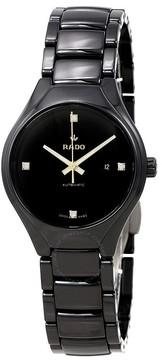 Rado True Black Diamond Dial Ladies Watch