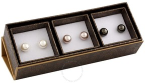 Bella Pearl Freshwater Pearl Stud Earring Set SET-M