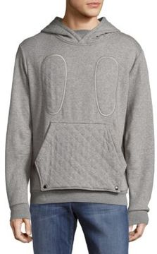 Mostly Heard Rarely Seen Mixed Media Pullover