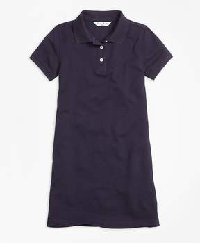 Brooks Brothers Short-Sleeve Polo Dress