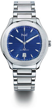 Piaget Stainless Steel Black Automatic Watch