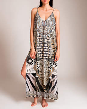 Camilla Weave of the Wild Overlay V Dress