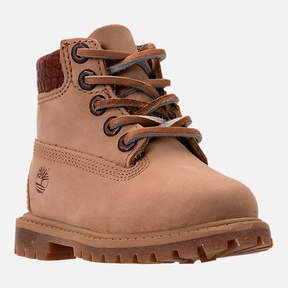 Timberland Boys' Toddler Pioneer 6-Inch Premium Boots
