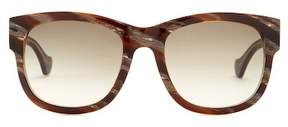 Balenciaga 54mm Squared Sunglasses