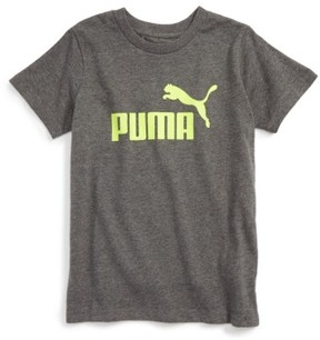 Boy's Puma Logo Graphic T-Shirt