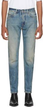 Helmut Lang Blue Mr. 87 Jeans