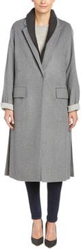 Dawn Levy Renata Wool-Blend Coat