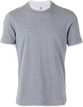 Brunello Cucinelli neck detail T-shirt