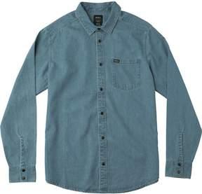 RVCA Mason Long-Sleeve Button-Down Shirt - Men's