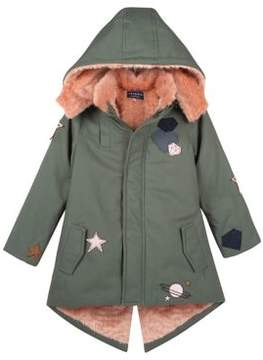 Andy & Evan Little Girl's Military Inspired Cotton Jacket