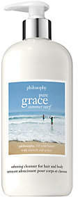 philosophy Pure Grace Summer Surf Hair & Body Cleanser, 16 Oz