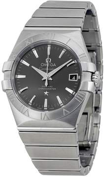 Omega Constellation Automatic Grey Dial Stainless Steel Men's Watch