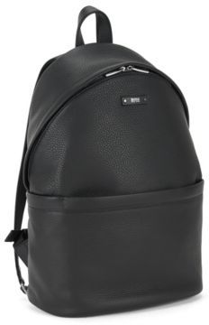 Hugo Boss Leather Backpack Traveller Backpack One Size Black