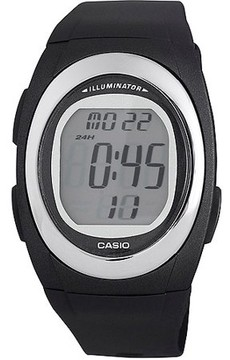 Casio Men's Classic Digital Watch, Black Strap