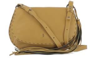 Henry Beguelin Mustard Yellow Leather Shoulder Bag