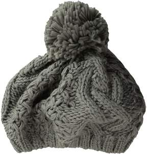 BCBGeneration Cable Beret Beanies