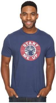 Life is Good Start Me Up Coffee Circle Crusher Tee