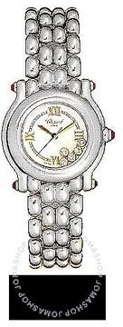 Chopard Happy Sport Diamond 18kt White Gold Ladies Watch
