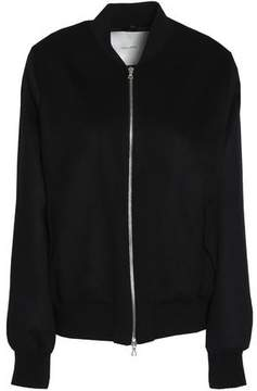 ADAM by Adam Lippes Cashmere Wool And Silk-Blend Bomber Jacket
