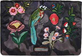 Nicole Lee Krissy Camouflage Embroidery Cross Body Bag (Women's)
