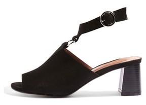 Topshop Women's Dazzle Ring Front Sandal