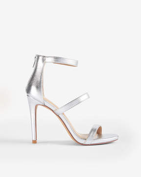 Express Metallic Heeled Sandals