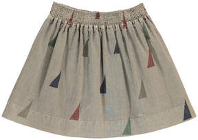 Bobo Choses Organic Cotton Triangle Skirt