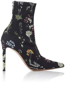 Altuzarra Women's Elliot Plissé Ankle Boots