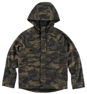 O'Neill Boy's Traveler Dawn Patrol Camo Hooded Windbreaker Jacket