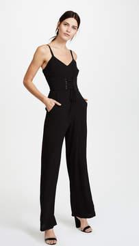 WAYF Ripley Corset Jumpsuit