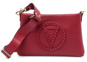 Mario Valentino Valentino By Vanille Rock Studded Leather Crossbody Bag