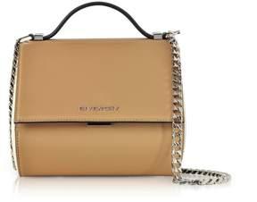 Givenchy Light Beige Pandora Box Crossbody Bag