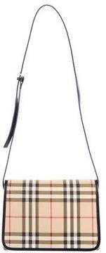 Burberry Nova Check Shoulder Bag - BROWN - STYLE