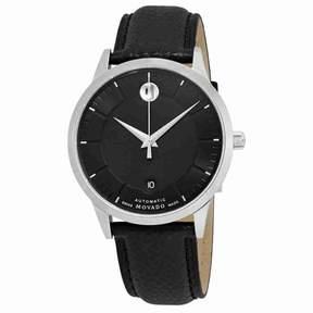 Movado 1881 Automatic Black Dial Men's Watch 0607019