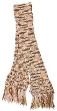 Missoni Chunky Knit Wool Scarf