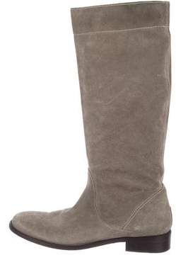 Brunello Cucinelli Suede Knee-High Boots