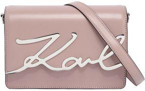 K/Metal Signature Leather Shoulder Bag