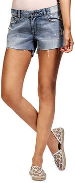DL1961 Premium Denim Renee Cutoff Shorts with Step Hem